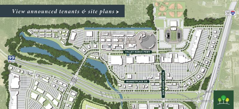 Valley Ranch Town Center Map