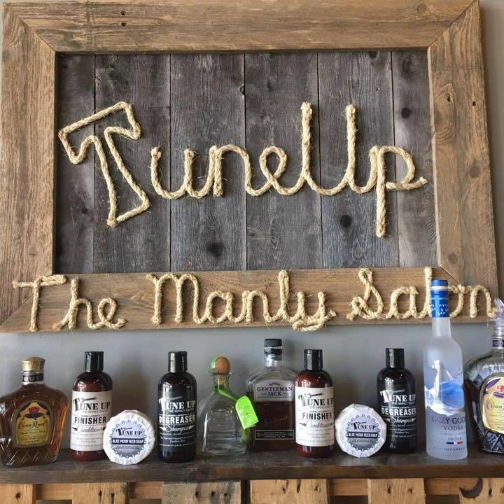 Tune Up The Manly Salon beauty care products