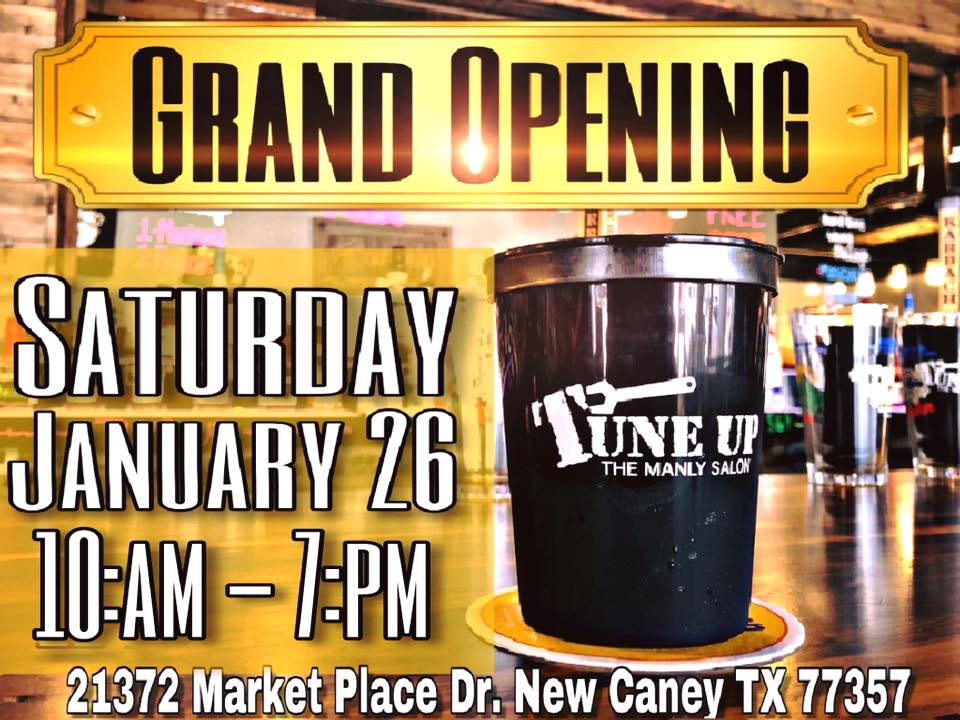 Grand opening of the Tune Up Manly Salon
